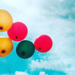 AYA Reintegratie ballen in lucht houden